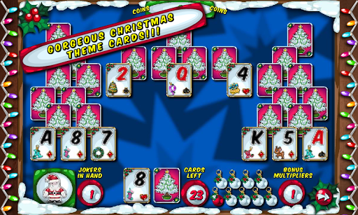 Christmas Solitaire Card Game