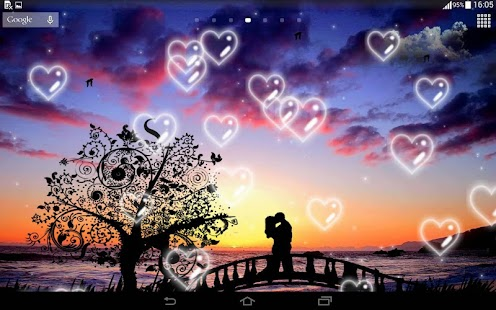 Valentine day live wallpaper android apps on google play for Decor live beautiful app