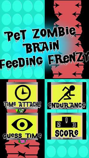 Pet Zombie Brain Feed Frenzy
