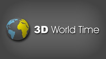 Screenshot of 3D World Time