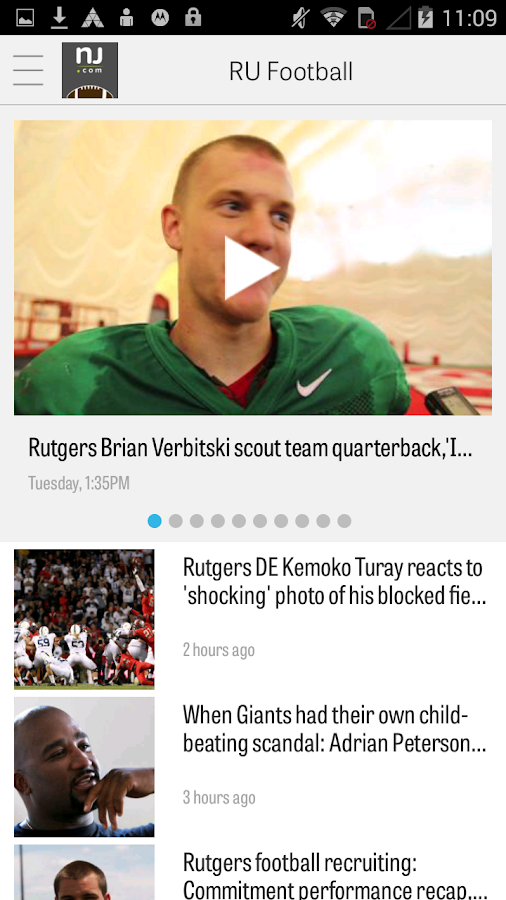 NJ.com: Rutgers Football News- screenshot