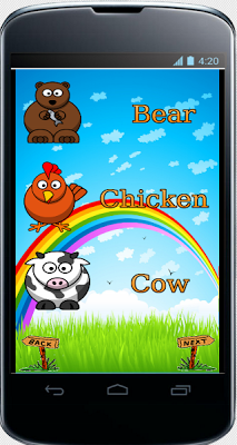 Learning english for kids - screenshot