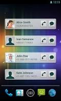 Screenshot of Quick Contacts