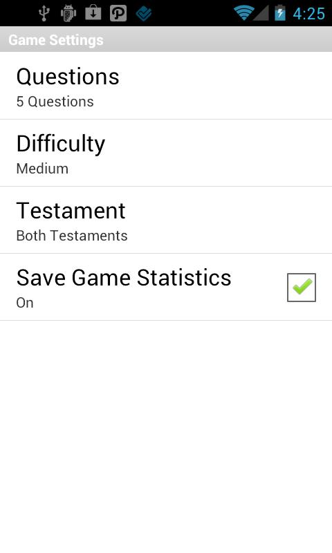 Bible Reference Game- screenshot
