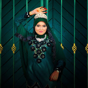 Lady In Green by Budin DaneCreative - People Portraits of Women ( portraiture, pose, photographer, photographed, portrait )