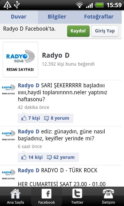 Radyo D - screenshot