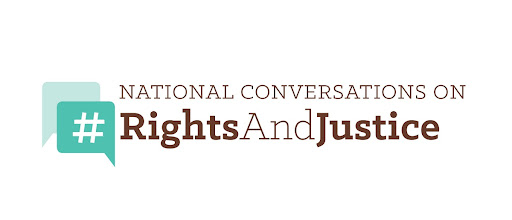 Logo for the National Conversations on Rights and Justice