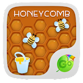 Honeycomb GO Keyboard Theme