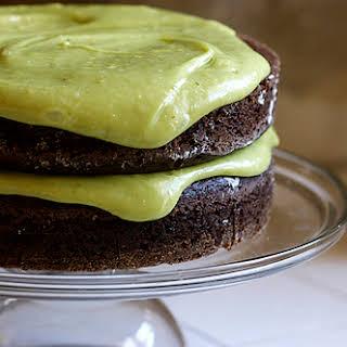 Vegan Chocolate Avocado Cake.