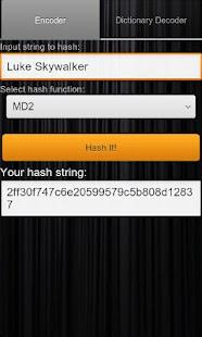 Hash Decrypt- screenshot thumbnail