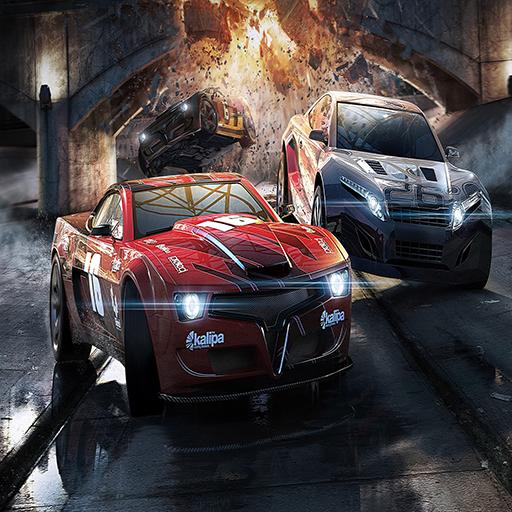 渦輪增壓賽車遊戲3D LOGO-APP點子