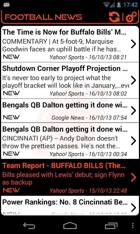 Cincinnati Football News - screenshot