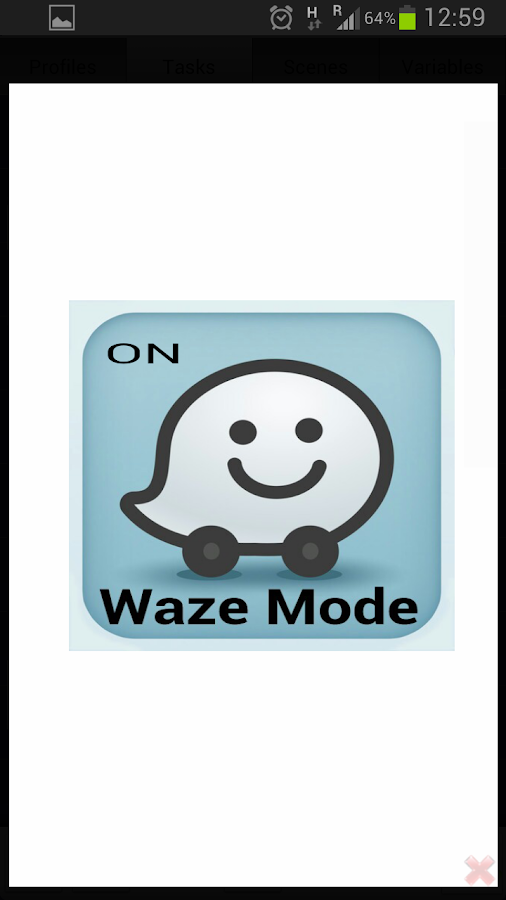 Waze Car Dock - screenshot