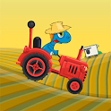 gizmo rush tractor race icon