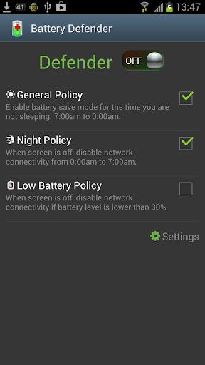 生產應用必備免費app推薦|Battery Defender - 智能省电专家線上免付費app下載|3C達人阿輝的APP