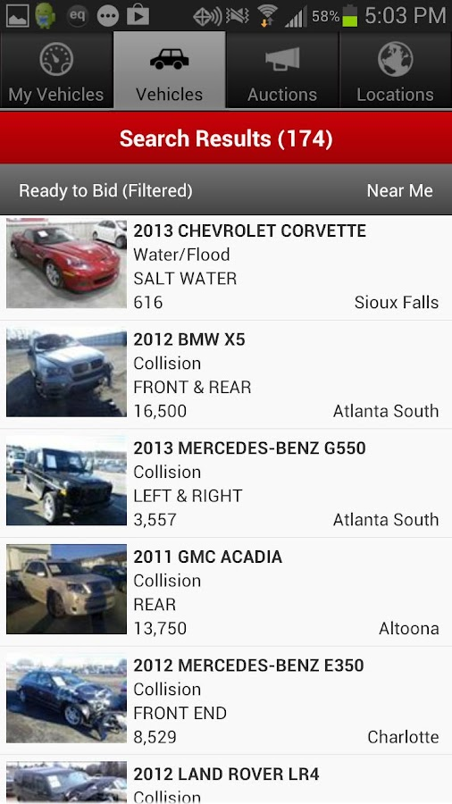 IAA Buyer Salvage Auctions - Android Apps on Google Play