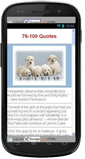 【免費生活App】Best Girls Quotes-APP點子