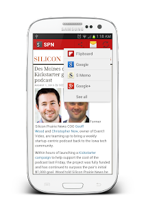 Silicon Prairie News- screenshot thumbnail