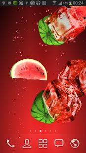 Watermelon juice LWP screenshot