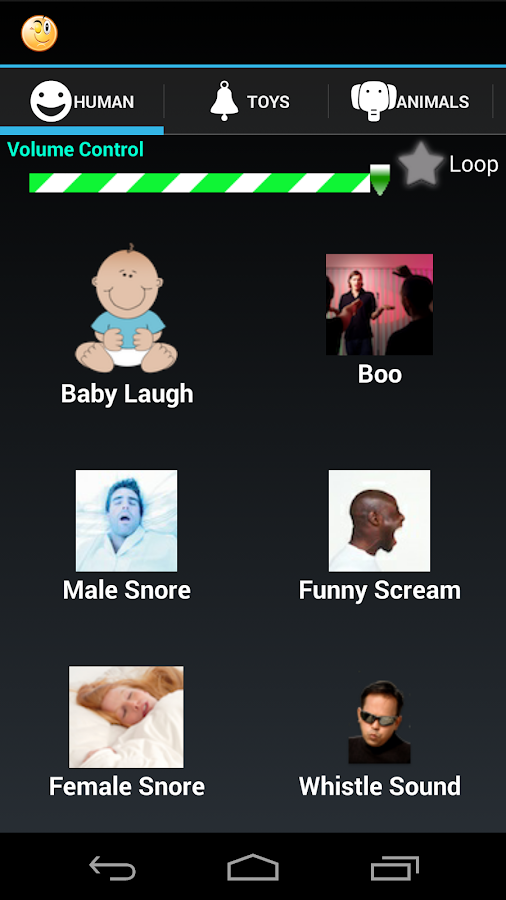 Funny Sounds - screenshot
