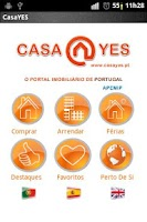 Screenshot of CasaYES