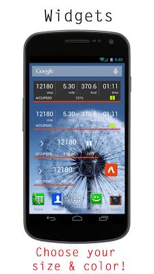 Accupedo-Pro Pedometer - screenshot