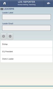 LDS Reporter- screenshot thumbnail