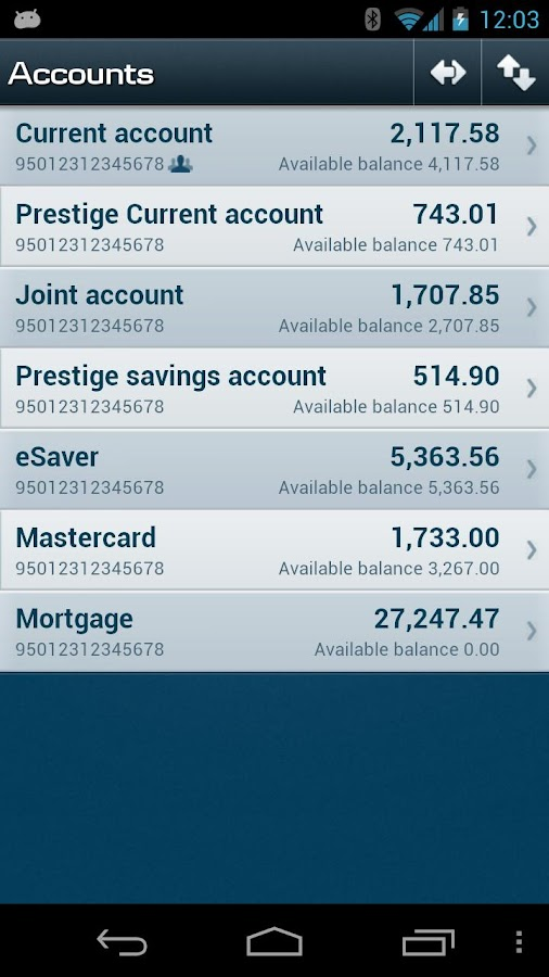 Mobile Bank IRL - screenshot