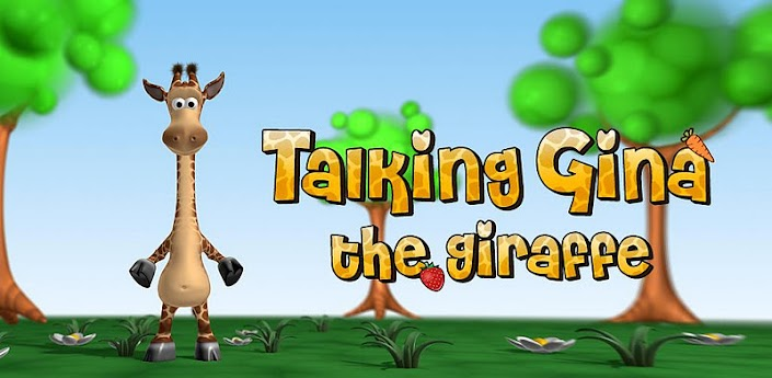 Скачать Talking Gina the Giraffe - говорящий жираф Джина для Андроид