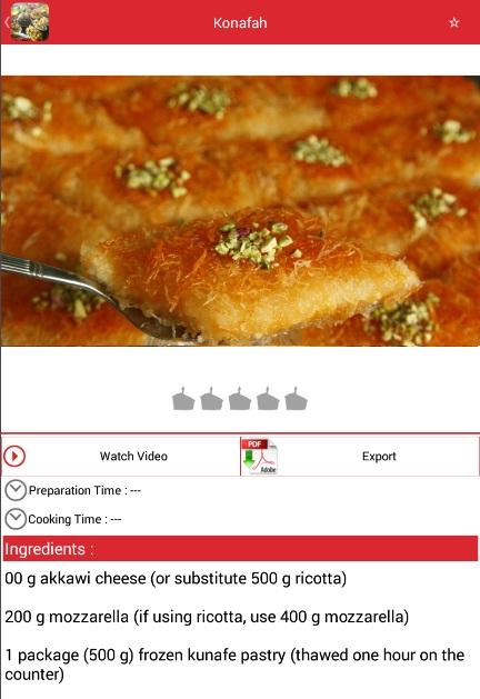 Arabic food recipes izinhlelo ze android ku google play arabic food recipes isithombe skrini forumfinder Image collections