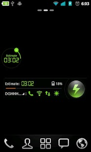 Simple Theme GO Power Battery - screenshot thumbnail