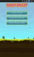 Screenshot of Angry Space Backup