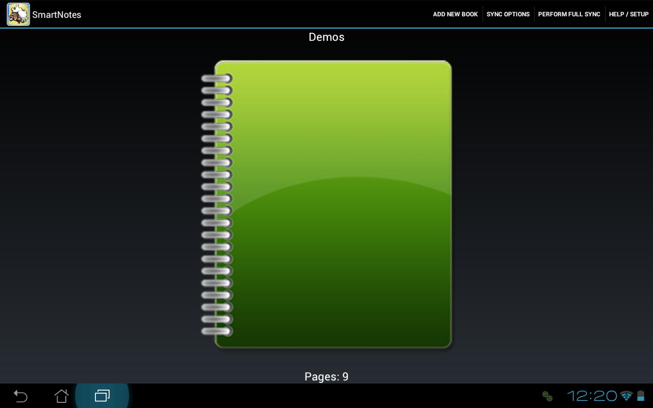 SmartNotes- screenshot