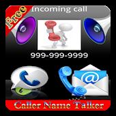 Caller Name Talker- SMS Reader