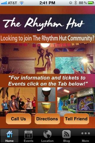 The Rhythm Hut - screenshot