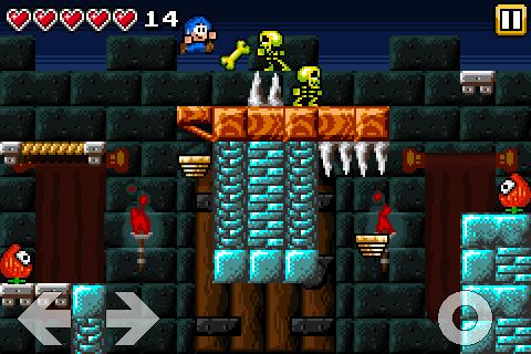 Bloo Kid - screenshot
