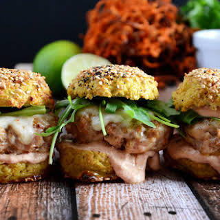 Chipotle and Andouille Sausage Sliders.