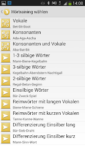 Hörtraining für CIs- screenshot thumbnail