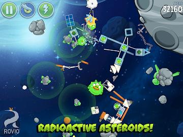 Angry Birds Space Premium Screenshot