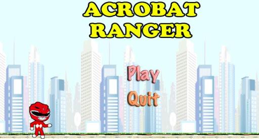 Acrobat Red Ranger Game