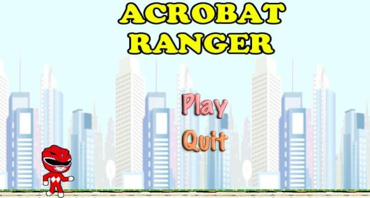 Acrobat Red Ranger Game - screenshot