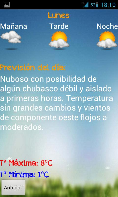 Meteocaravaca OLD- screenshot