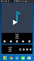 Screenshot of Plug In Music Widget