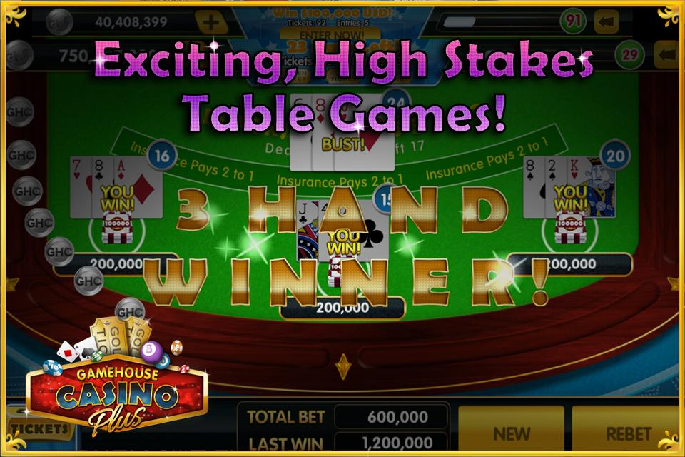 GameHouse Casino Plus- screenshot
