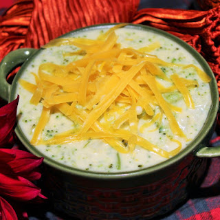 Broccoli Cauliflower Cream Soup.