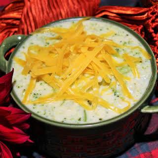 Broccoli Cauliflower Cream Soup.
