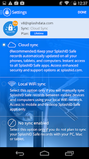 SplashID Safe Password Manager- screenshot thumbnail