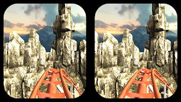 Screenshot of RollerCoaster P2 HelloApps3D