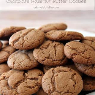 Chocolate Hazelnut Butter Cookies