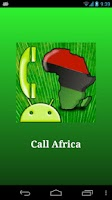 Screenshot of Call Africa
